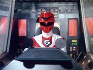 Maskman Red cockpit