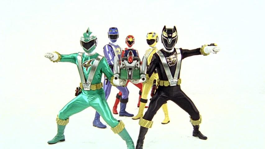 Comparison:GP 09: Tomorrow's There vs. Ranger Yellow