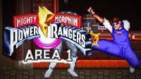Mighty Morphin Power Rangers (SNES) - Area 1