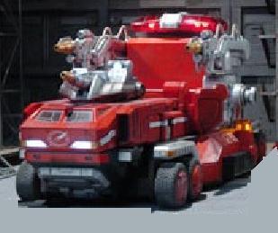 Fire Truck Zord