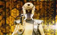 Gold Beast Morphers Ranger Morph 2