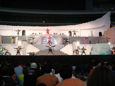 Dekaranger Stage Show at Super Hero Nagoya Dome