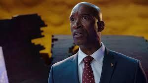 Evox as Mayor Daniels