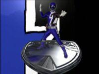 Blue SPD Ranger Morph 2