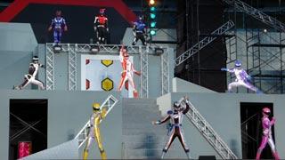 Boukenger Stage Show at Super Hero Nagiya Dome