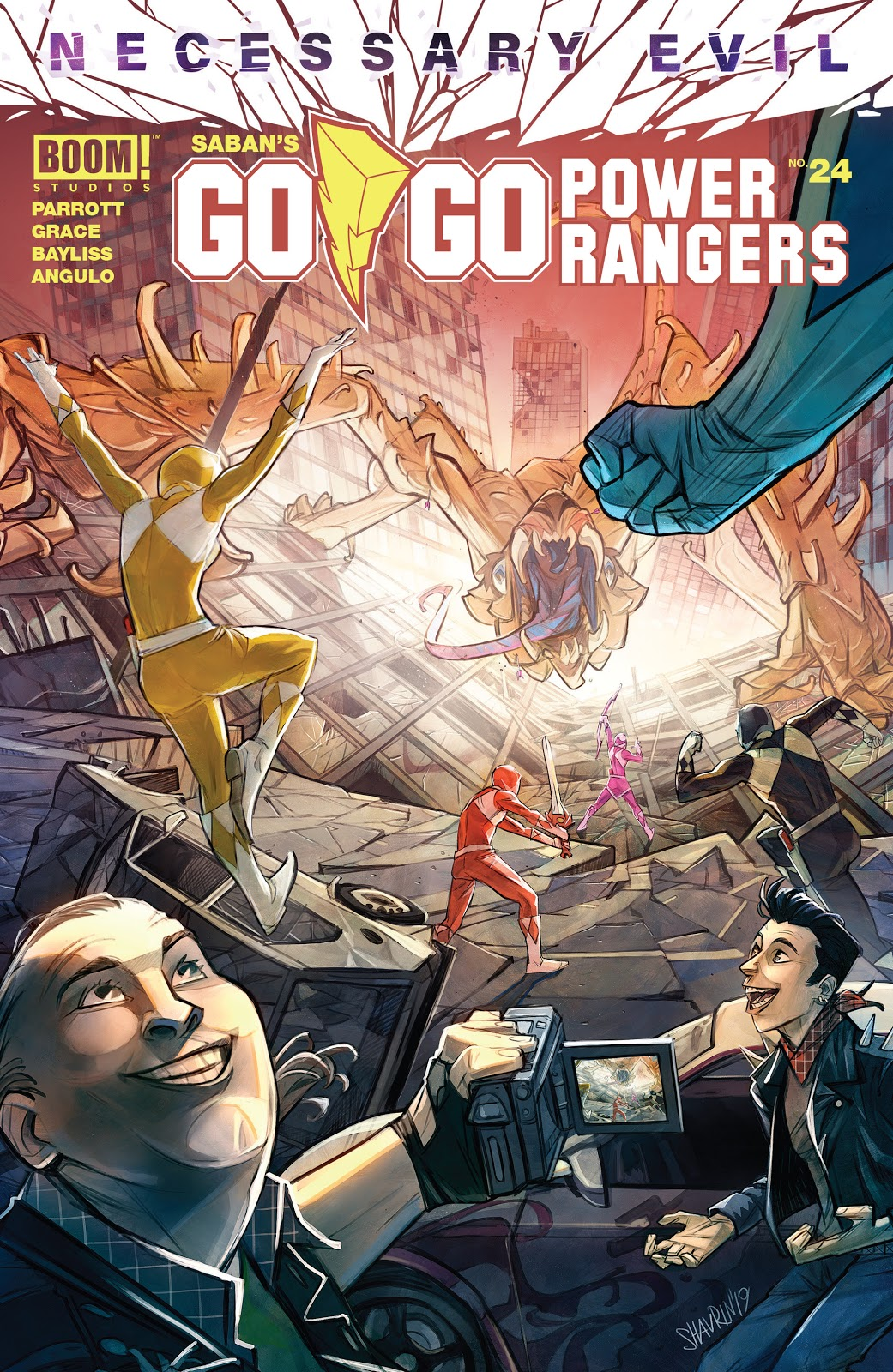 Go Go Power Rangers Issue 24