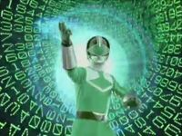 Green Time Force Ranger Morph 2