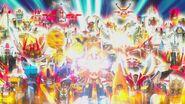 40 Sentai mecha