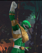 Legacy Wars Mighty Morphin Green Ranger Victory Pose