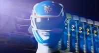 Blue Megaforce Ranger Morph 2