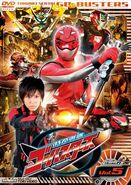 Go-Busters DVD Vol 5