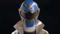 Blue Super Megaforce Ranger Morph 2