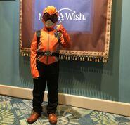 Make A Wish BM Orange