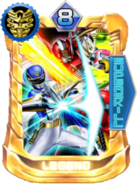 Gosei Great Card in Super Sentai Legend Wars