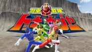 Ressha Sentai ToQger with Hyper ToQ1gou