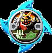 Samurai Megazord Ninja Power Star