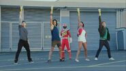 DC Rangers Unmorphed except Tyler