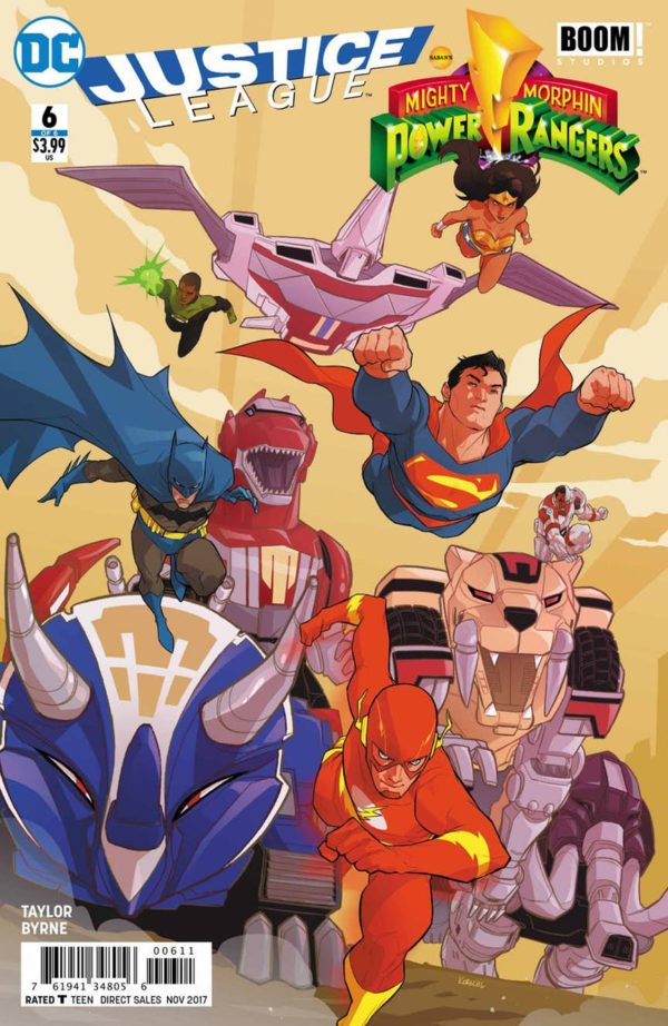Justice League/Power Rangers Issue 6