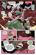 Mighty Morphin Power Rangers Pink -6 Page 6