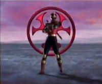 Crimson Thunder Ranger Morph 2