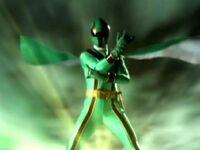 Green Mystic Ranger Morph 2