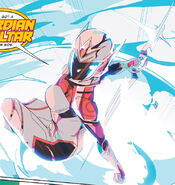 Might Morphin Issue 6 - Zelya Guardian form