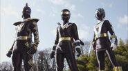 Black Gokai Change