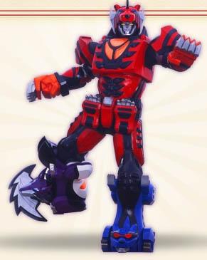 Wolf Pride Megazord