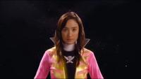 Pink Super Megaforce Ranger Morph 1