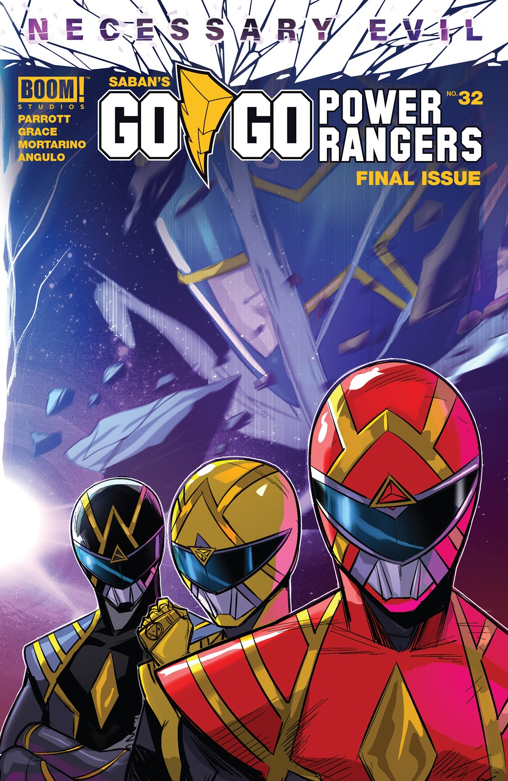 Go Go Power Rangers Issue 32