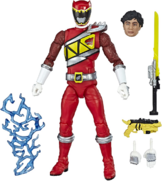 Red Dino Charge Ranger Lightning Collection