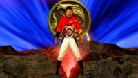 TyrannoRanger (Kyoryuger vs. Go-Busters) Henshin 1