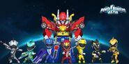 Power Rangers RPM in Power Rangers Dash