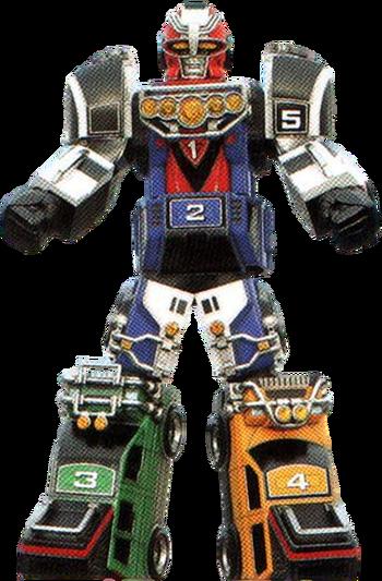Turbo Megazord