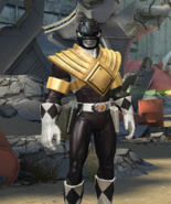Legacy Wars Mighty Morphin Black Ranger Armored Victory Pose
