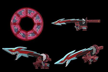 Comparison:Kyoryu Origami vs. SharkZord