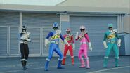 DC Rangers Morphed