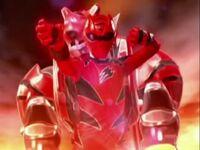 Red Jungle Fury Ranger Morph 2