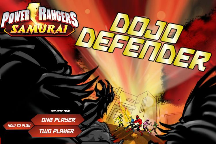 Power Rangers Samurai: Dojo Defender