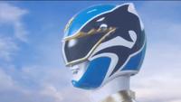 Blue Megaforce Ranger Morph 1