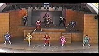 Carranger Stage Show at Super Hero Nostalgia