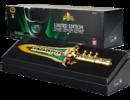MMPR BANDAI SDCC 2014 POWER RANGERS GOLD PLATED LEGACY DRAGON DAGGER 01