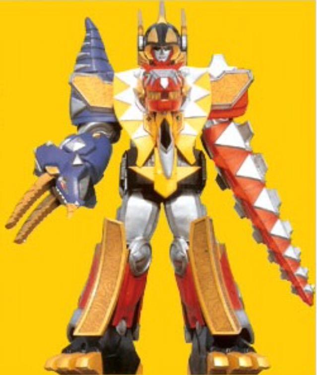 Comparison:Bakuryuu Gattai AbarenOh vs. Thundersaurus Megazord