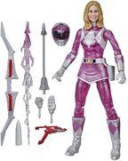Mighty Morphin Pink Ranger Metallic Lightning Collection