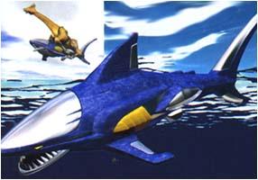 Blue Shark Wildzord