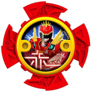 T-Rex Super Charge Red Ninja Power Star