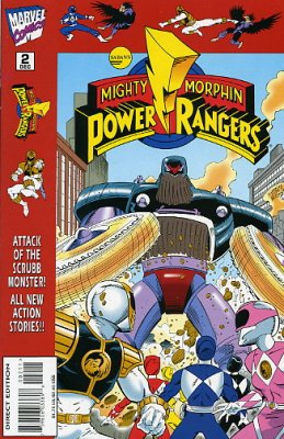 Mighty Morphin Power Rangers (Marvel) Vol. 1 Issue 2