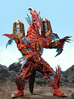 Comparison:Great Evil Dragon Girad vs. Dragonizer