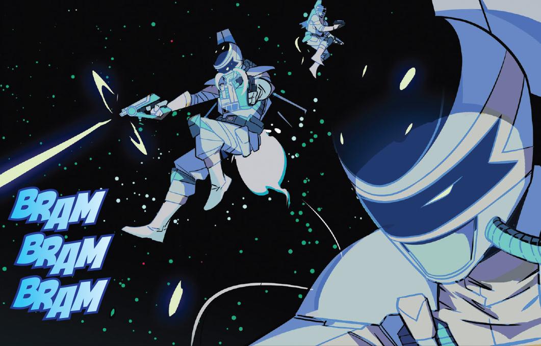Silver Space Sentries