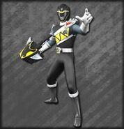 Kyoryu Black Armed On (Dice-O)